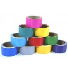 Ristop-tape, rød