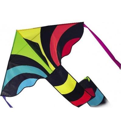 Simple Flyer, Black Rainbow, 120 cm.