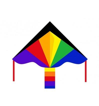 Simple Flyer, Rainbow 120 cm